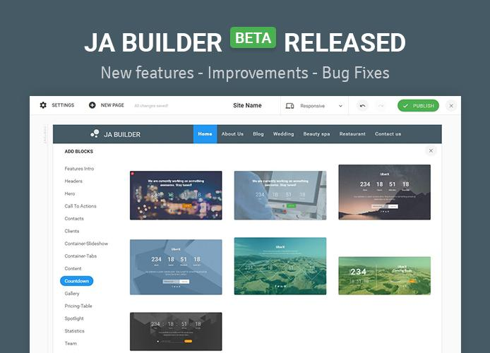 ja builder beta release